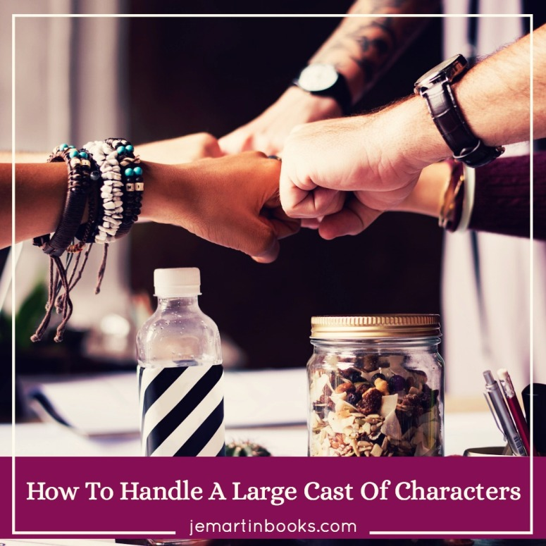 Five Simple Ways To Handle A Large Cast Of Characters