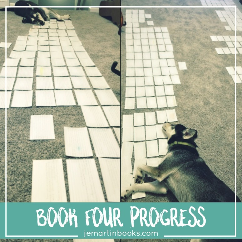 Book Four Progress