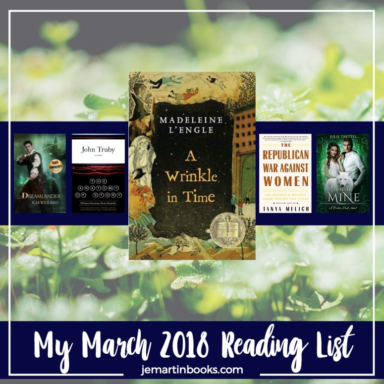 MyMarch2018ReadingList