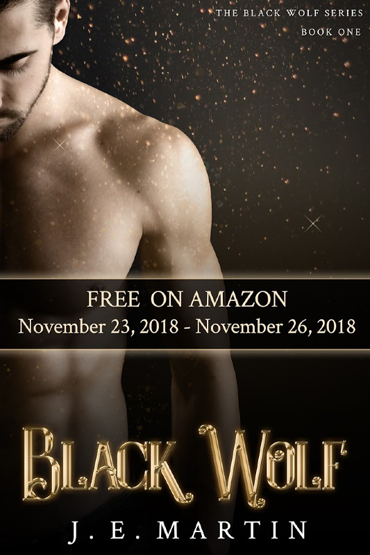 Black Wolf is FREE Black Friday through Cyber Monday, 2018, J. E. Martin Books @jemartinbooks